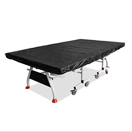 DONGZHI Ping Pong Mesa Cubrir Impermeable A Prueba de Polvo Protector Interior Al Aire Libre Ligero No tóxico Durable Mesa Cubrir (Color : A, Size : 280x150x5cm)