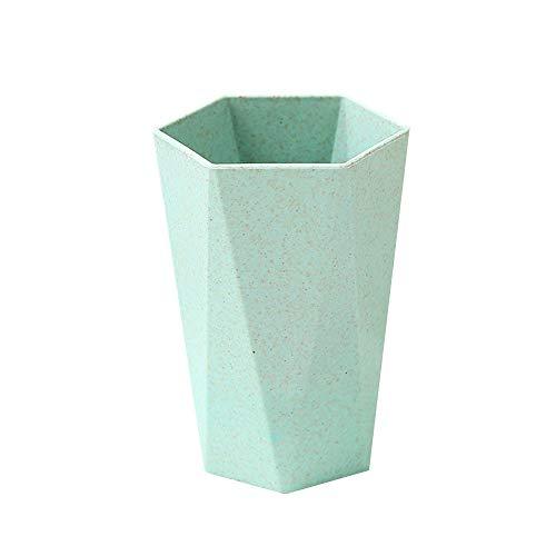 Zahn-Cup-einfache Spülung-Becher-Badezimmer-Schalen-Hexagon-Form-Gurgeln-Schale für das Trinken von waschendem Zahn mit 4 Farben