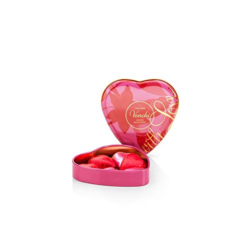 Lattina San Valentino - Cuoricini di Cioccolato Assortiti in Scatola Regalo a Forma di Cuore, 48g - Senza Glutine