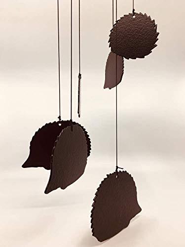 Profiles Carillon à Vent en métal Motif hérisson