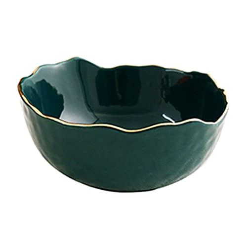 Cuenco Cuenco Para Ensalada Vajilla Para El Hogar Cuenco Para Frutas Cuenco Para Sopa Cuenco Para Fideos Utensilios De Cocina (color: Verde)