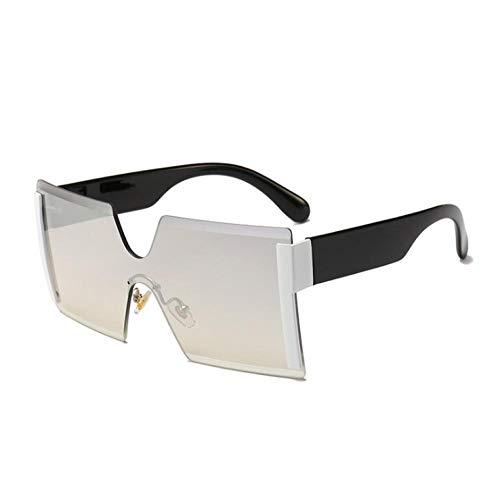 ZZZXX Gafas De Sol Mujer BaratasGafas De Sol De Una Pieza De Color Correr, Andar En Bicicleta,Protección Uv400, Varios Colores Disponibles,Con Caja De Regalo Y Paño Para Vasos