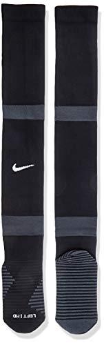 Nike U Nk Matchfit Knee High-Team 20, Calzettoni da Calcio Unisex-Adulto, Nero/Nero/Bianco, L
