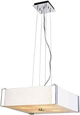 Amazon.com: Colgante Ps/Frost cristal curvado Pantalla E27 ...