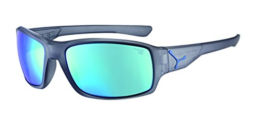 Cébé Erwachsene Haka Sonnenbrille, Matte Translucent Blue, Medium
