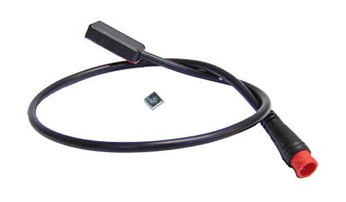 NCB Juego de conversión para bicicleta eléctrica con sensores de freno hidráulicos BBS de 2 pines, color rojo