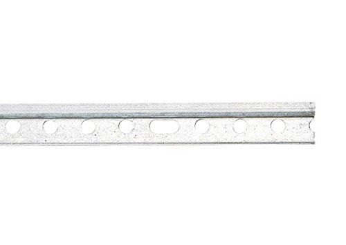 2 Stück je 118 cm PROFI Montageschienen Aufhängeschienen für Hängeschränke aller Art, verzinkt
