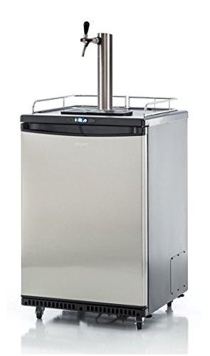 Fassbierkühlschrank 50l Fässer mit Schanksäule, Keg, Uhr, Schläuche & Co²