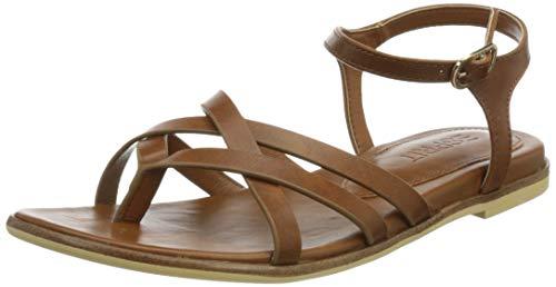 Esprit Damen 041EK1W322 Sandale, 235 Caramel, 39 EU