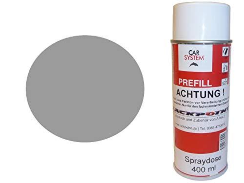 Lackpoint Spraydose 400ml 1 Komponenten Autolack RAL 7004 Signalgrau Glanz