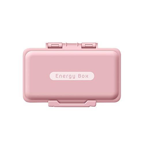Preisvergleich Produktbild YUMEIGE Kosmetische Aufbewahrungsbox Pillenkasten,  tragbare Tablet- und Pillenflasche,  7-tägige GROßwandler,  Schnalle-Design,  gebraucht für Geschäftsreisen,  Reisen und Arbeit