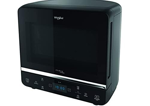 Whirlpool MAX 49 MB forno a microonde + Grill, 13 litri, con vaporiera, griglia alta, piatto Crisp + maniglia