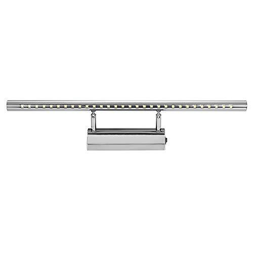 Winbang Spiegelleuchte, 5W / 7W LED Spiegelleuchte Badspiegelleuchten Schminkbeleuchtung mit Schalter Warmweiß/Kaltweiß (Kaltes Weiß,7W,55cm)