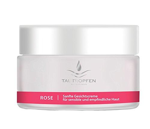 TAUTROPFEN Sanfte Gesichtscreme Rose für sensible und empfindliche Haut, 50 ml