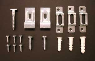 ArtRight T Lock security hardware set for 25 frames, free wrench