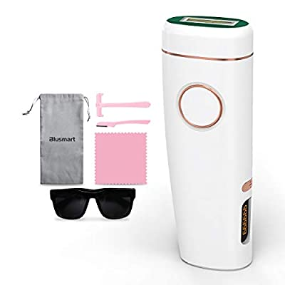 Hair Removal for Women Blusmart Hair Remover At-home Hair Removal Device Professional Hair Removal System Upgrade 999,999 Flashes