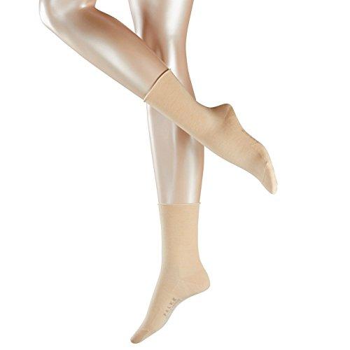 Falke Casual Damen Socken Breeze 2er Pack, Größe:39-42;Farbe:Cream (4019)