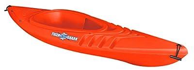 Emsco Group ESP Tiger Shark Sit-In Kayak with Dry-Ride Wave Breaker Design