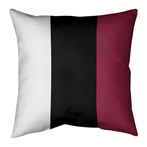 ArtVerse Katelyn Smith 14 x 14 Poly Twill Double Sided Print with Concealed Zipper /& Insert Arizona Love Pillow