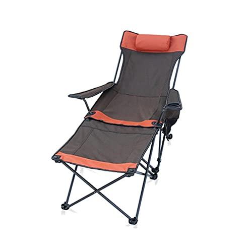 FEANG Silla de Camping Silla de Camping Plegable - sillas de césped portátiles Pesados Soporta 300 lbs - Silla de Brazo al Aire Libre con Soporte de Taza y Bolsa de Transporte Silla de Picnics