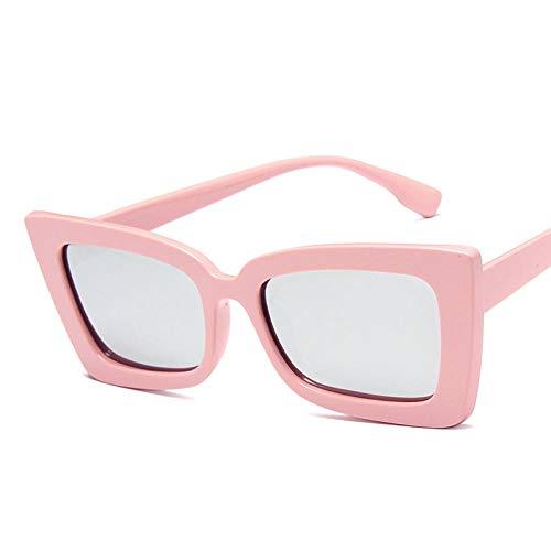 chuanglanja Gafas De Sol Mujer Aesthetic Gafas De Sol Cuadradas Para Mujer Ojo De Gato Viajes Al Aire Libre Gafas De Sol Para Conducir Gafas De Sol UV400-Rosa