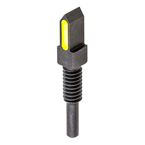 Find Discount Blitzkrieg Components MBUS PRO Spike Front Sight Post - Luminescent Green Stripe