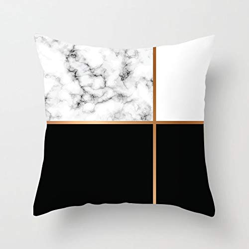 PPMP Rose gold cushion cover home decoration triangle marble arrow flash throw pillow decoration pillow case cushion cover A19 45x45cm 1pc