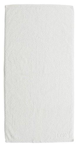 kela Serviette d'invité Ladessa en Coton 30x50cm Blanc 50x30x0,8 cm
