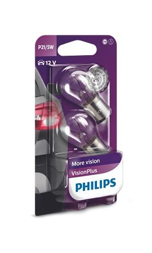 Philips 12499VPB2 - Luce segnaletica VisionPlus P21/5W, 2 pezzi