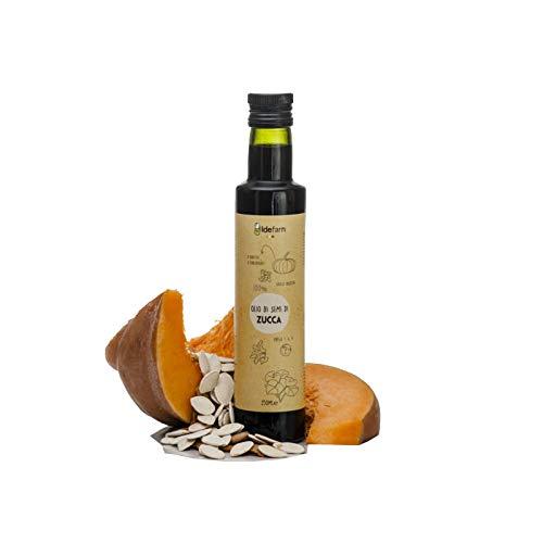 Olio di semi di zucca biologico spremitura a freddo 250 ml
