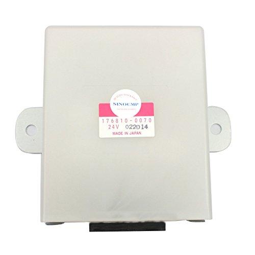176810-0070 KHN3392 Scheibenwischermotor 24V - SINOCMP Controller Wischermotor für Denso Sumitomo SH350-5 Bagger-Teile Lampe und Wischerbedienungseinheit, 6 Monate Garantie