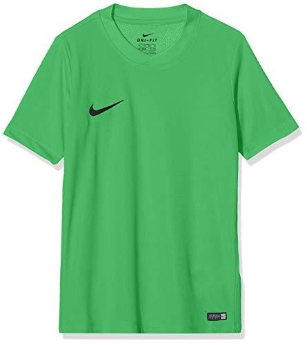 Nike SS YTH Park Vi JSY Camiseta, Niños, Verde (Hyper Verde/Black), L