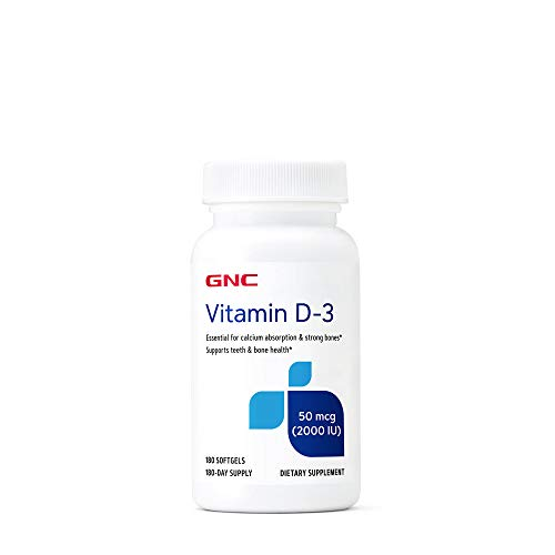 GNC Vitamin D3 50mcg