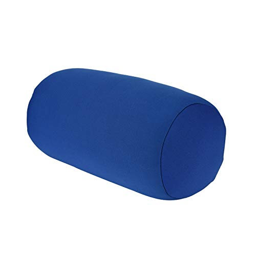 Petyoung Microperlas de Espuma Almohada Reforzada- Cojín para La Espalda Cojín Enrollado Almohada para Dormir en Casa Cuello Cómodo Soporte para Relajar La Cabeza El Cuello Y La Muñeca