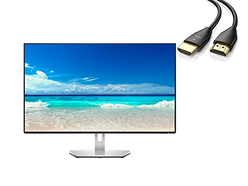 """Dell LED Monitor - 27"""" (27"""" viewable) - 2560 x 1440 QHD @ 75 Hz - IPS - 350 cd/m - 1000:1-4 ms - 2xHDMI, DisplayPort Speakers with U Deal HDMI"""