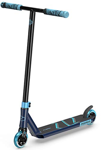 Fuzion Z250 Pro Scooters - Trick Scooter - Intermediate and Beginner Stunt Scooters for Kids 8 Years and Up, Teens and Adults – Durable, Smooth, Freestyle Kick Scooter for Boys and Girls (SE Blue)