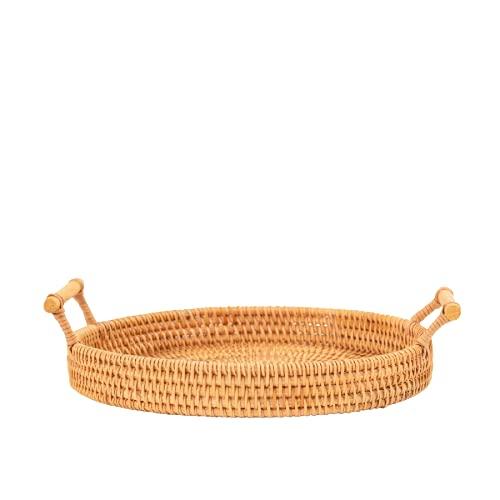 cesta mimbre pequeña de la marca JJJT
