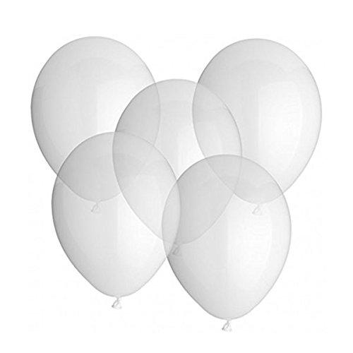 ROSENICE Sachet de 25 ballons latex transparente 12 pouces