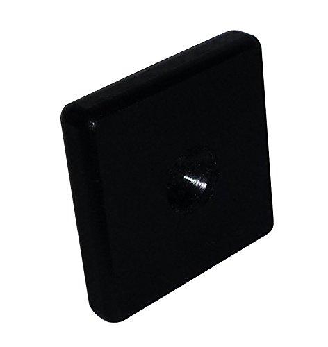 Roos Bodenschoner für Biertischgarnituren, 12 Stück (schwarz mit Schraubensatz)