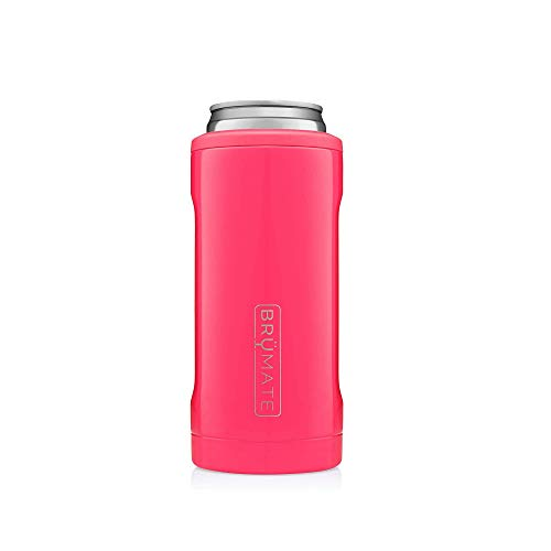 BrüMate Hopsulator Slim Double-Walled Stainless Steel Insulated Can Cooler...