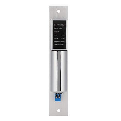 awstroe Elektrisches Riegelschloss, Sicherheitszugangskontrollsystem, geringer Stromverbrauch, geeignet zum Öffnen nach innen 180 ° Glastüren
