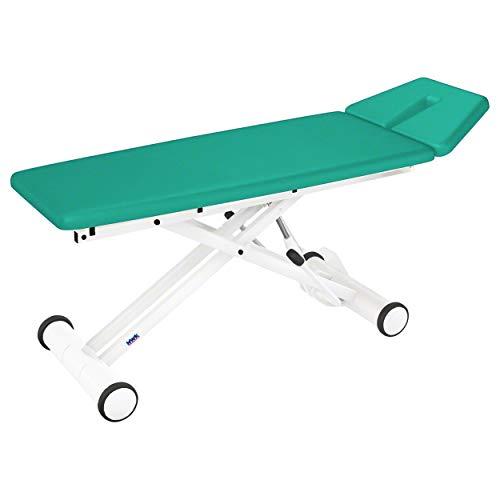 HWK Therapieliege Solid Massageliege Massagebank Hydraulik 2-TLG, 65 cm