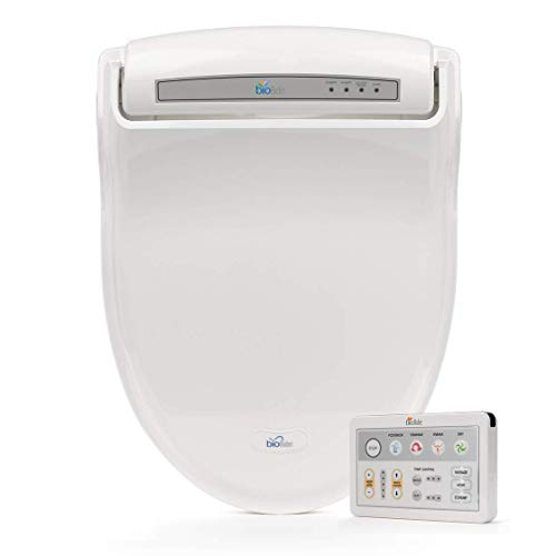 Bio Bidet BB-1000W Supreme Elongated Bidet Toilet Seat, White