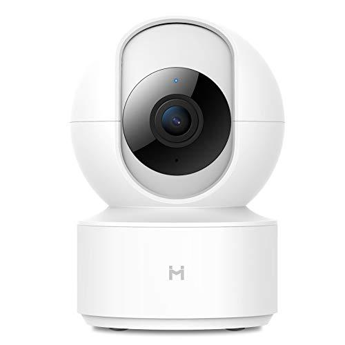 Telecamera IMILab di sicurezza IP per bambini wireless 1080P, telecamera dome di sorveglianza WiFi 2.4Ghz Monitor per baby sitter per domestici con zoom 4x, audio bidirezionale, visione notturna