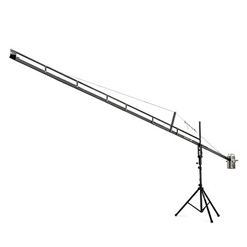 PROAIM 18ft Professional Camera Film Crane Jib, Tripod Stand (P-18-JS) for Cameras up to 8kg/17.6lbs with Carrying Bag   for DSLR Video Film Movie Production