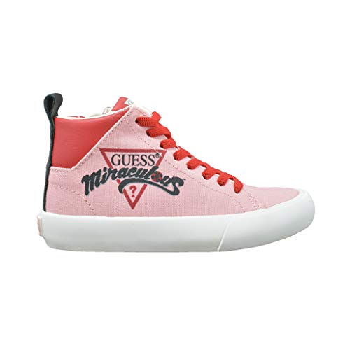 Guess Niñas Sneakers GUESS Miraculous Pink Zapatillas de Gimnasia