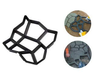 Stampo per pavimentazione giardino 4371 matrice per cemento 42,5 x 42,5 cm