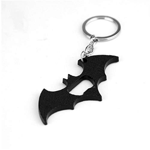 Zonster Batman Key Chain Beer Bottle Opener Multi Function Portable Movies Avengers Superheroes Pendant Keychain