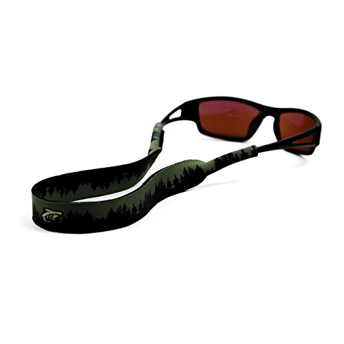Pilotfish Sunglasses Strap - Floating Neoprene Eyewear Retainer - Sunglass Holder Strap - Custom Design (Wilderness)