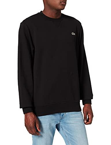 Lacoste SH1505 Sweater, Noir/Noir, XL para Hombre